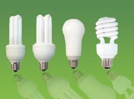 mercury - compact fluorescent light bulbs
