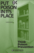 DPIC Poison Prevention Medicine Cabinet poster